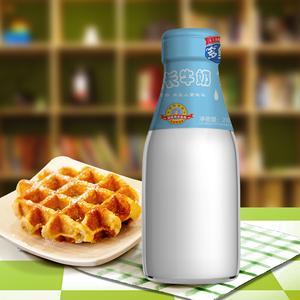 (4元/瓶)东方儿童成长纯奶  全程冷链配送到家