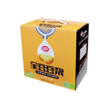 精品谷宜生全豆豆浆饮料249g(12盒/箱)